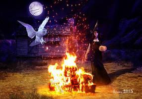 Halloween night by Julianez