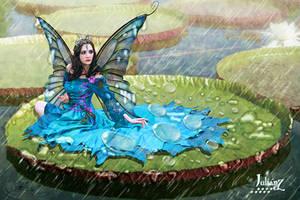 Ninfa queen of the waterlilies by Julianez