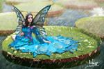 Ninfa queen of the waterlilies