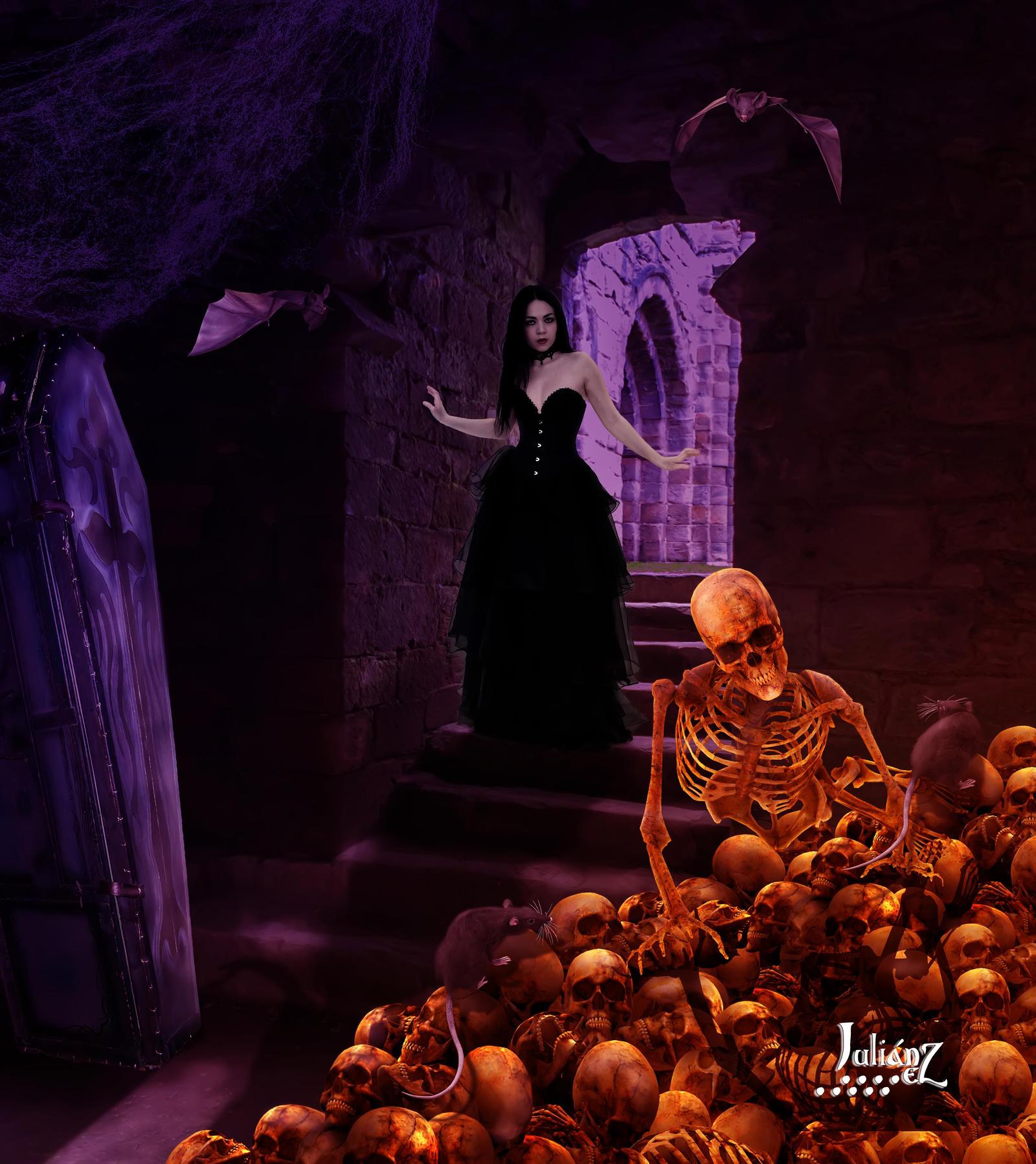 Vampiric quarters by Julianez