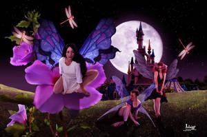 Three fairies by Julianez