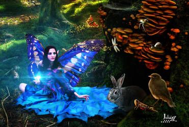 Harmony beings Forest by Julianez