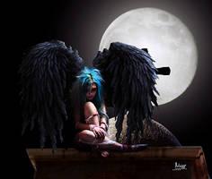Angel lurking by Julianez