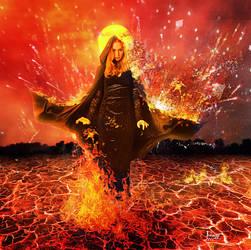 The Lady Fire by Julianez