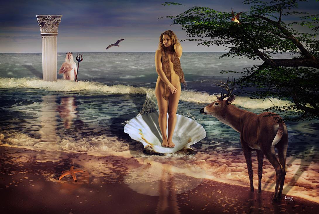 The Birth of Venus by Julianez