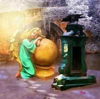 The Sleeping Angel by Julianez