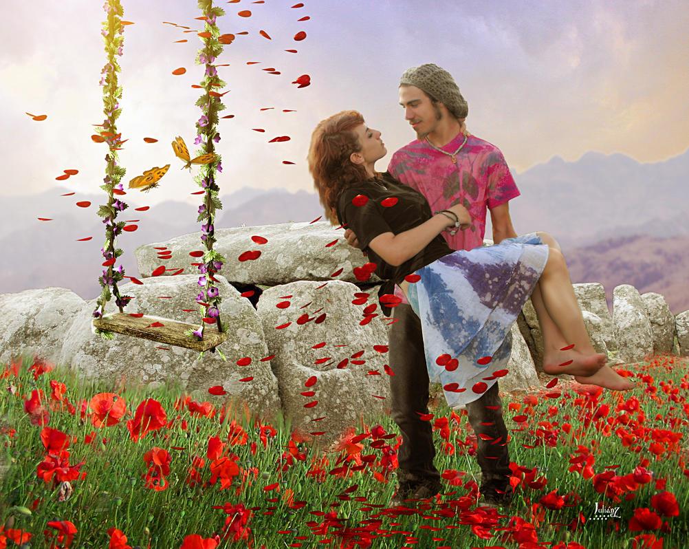 Love is in the wind by Julianez