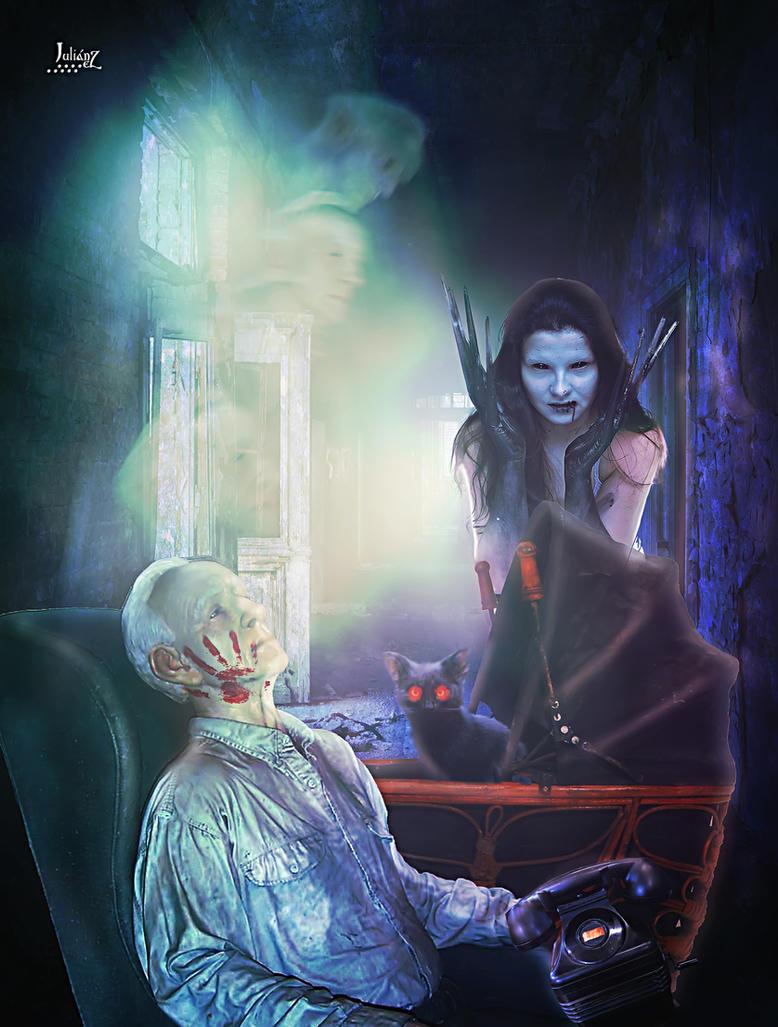Journey to the underworld of nightmares. by Julianez