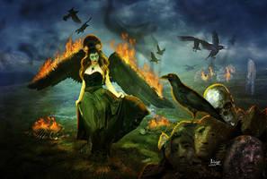 Morrigan by Julianez