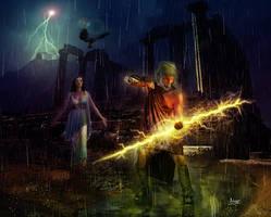 Zeus and Hera by Julianez