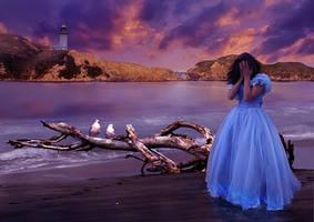 Tears in the sand by Julianez