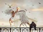 Cupid love arrows