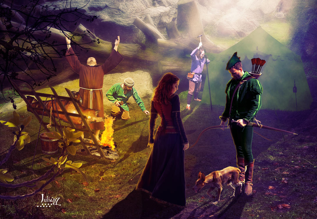 In the Robin Hood camp by