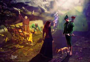 In the Robin Hood camp by Julianez