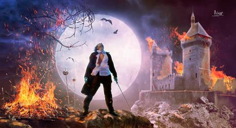 The wrath of Dracula by Julianez