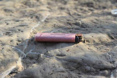 Rusty lighter