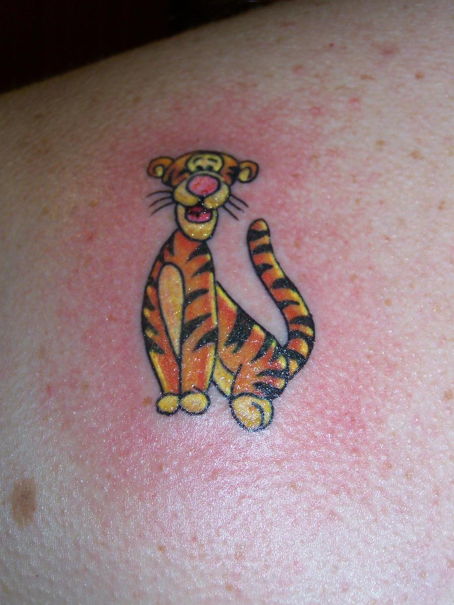 Tigger tattoo designs - Tigger By 01207bigal Tigger By 01207bigal