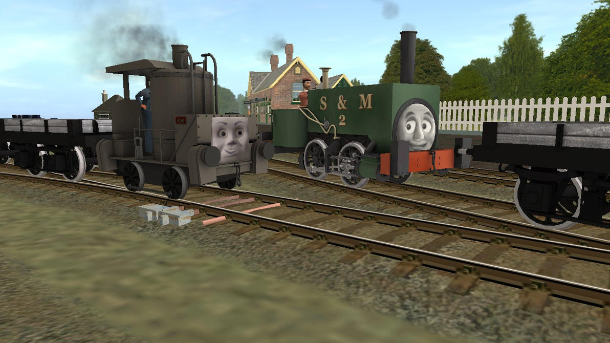 Joe and Neil: 2 Extremely Old Engines. by Sergeant-Sunflower