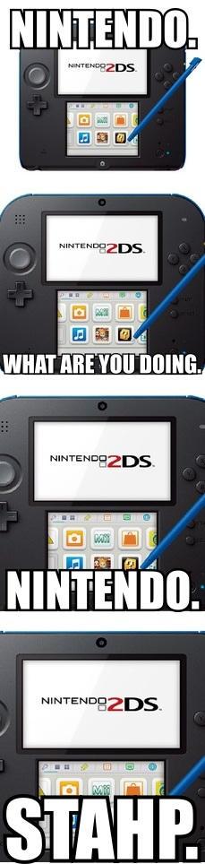 Nintendo 2DS in a Nutshell.