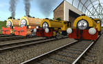 Railway Series meets Television Series: SCC Twins