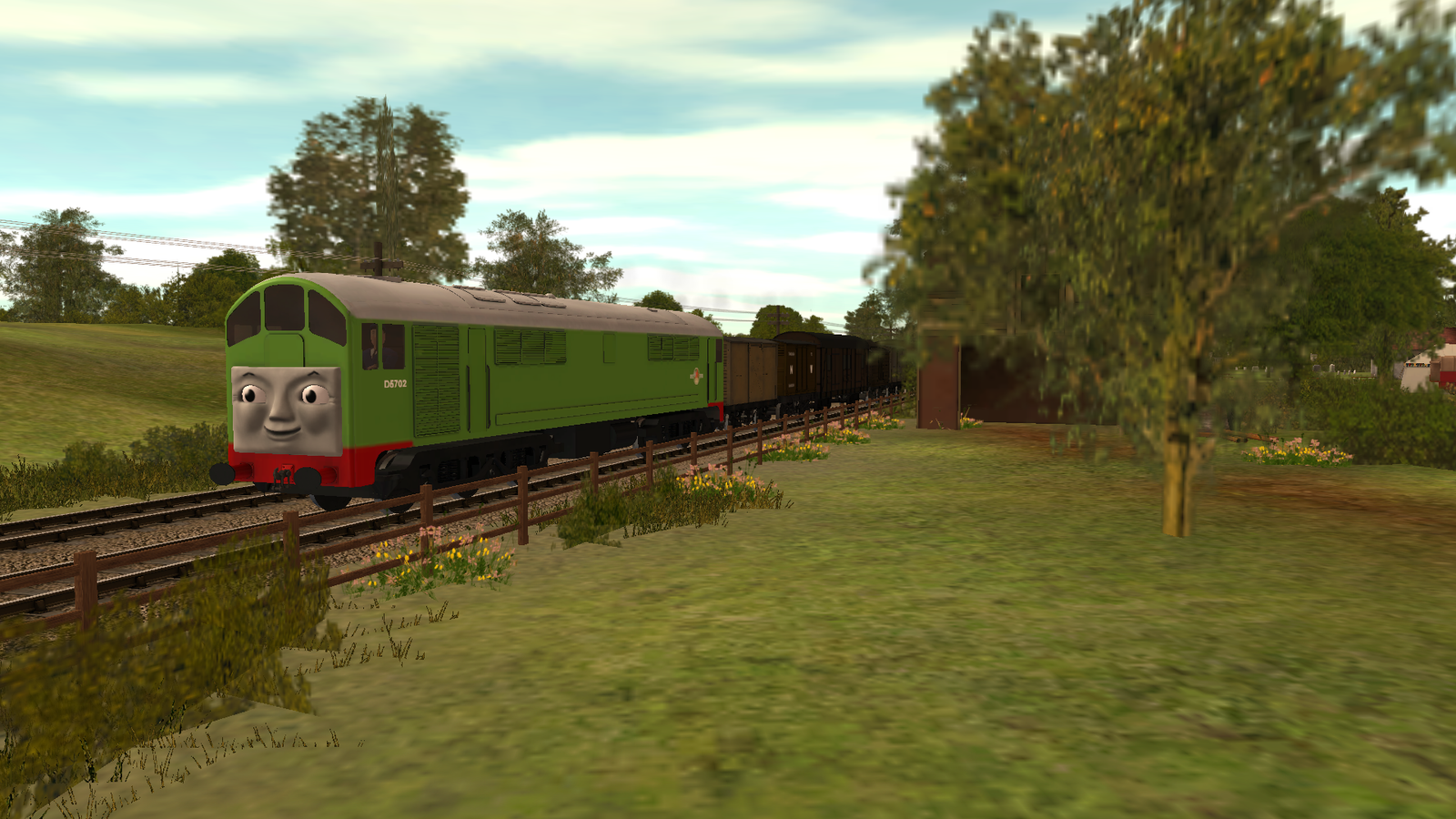 Image boco in trainz thomas and friends png scratchpad fandom - Boco The Loco By Sergeant Sunflower On Deviantart