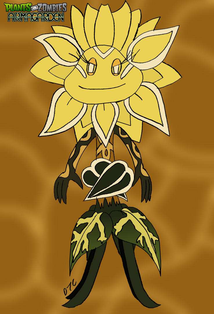 Old Pvz Armagarden Sunflower Queen By Rose Supreme On