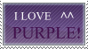 love purple stamp by FightingForNothing