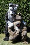Wolfy und Wuffy by King-Taibu