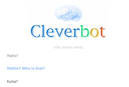 Kumajiro when did you take over Cleverbot? by anger-problems