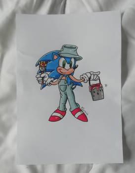 Sonic le maon