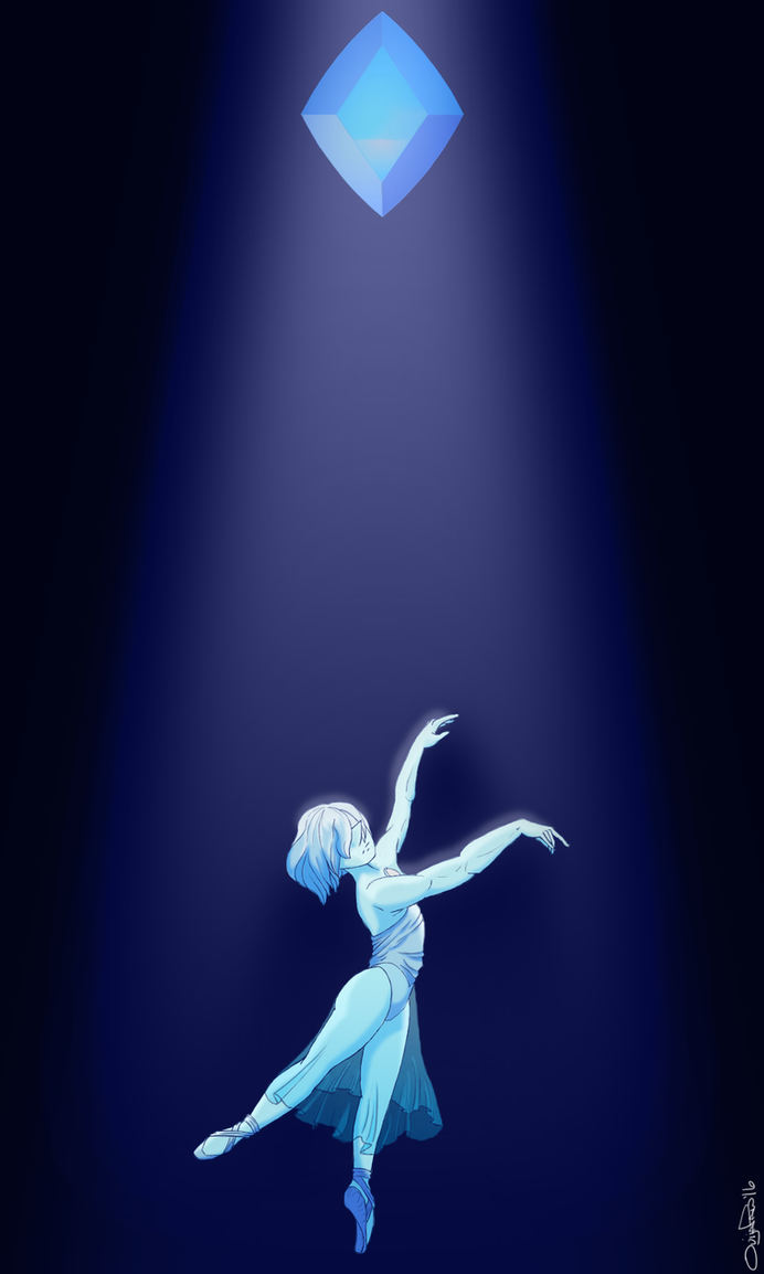 Blue Diamond's beautiful Pearl. ---------- After months of nothing I finally managed to make this. It's not great, I see a LOT that I need to work on, but it's a lot better then everything else I'v...