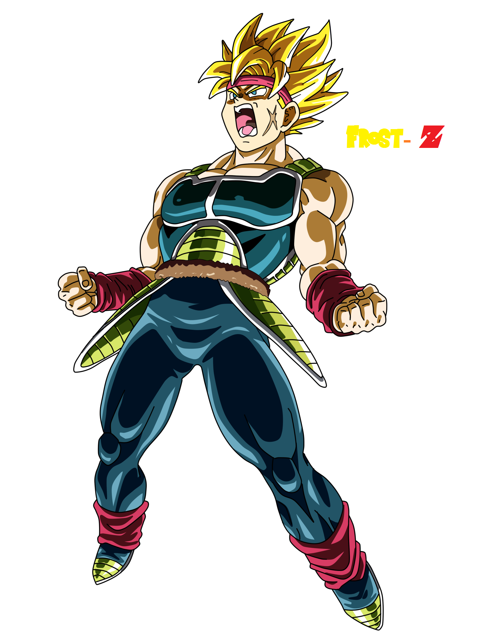Bardock Super Saiyan by Frost-Z on DeviantArt