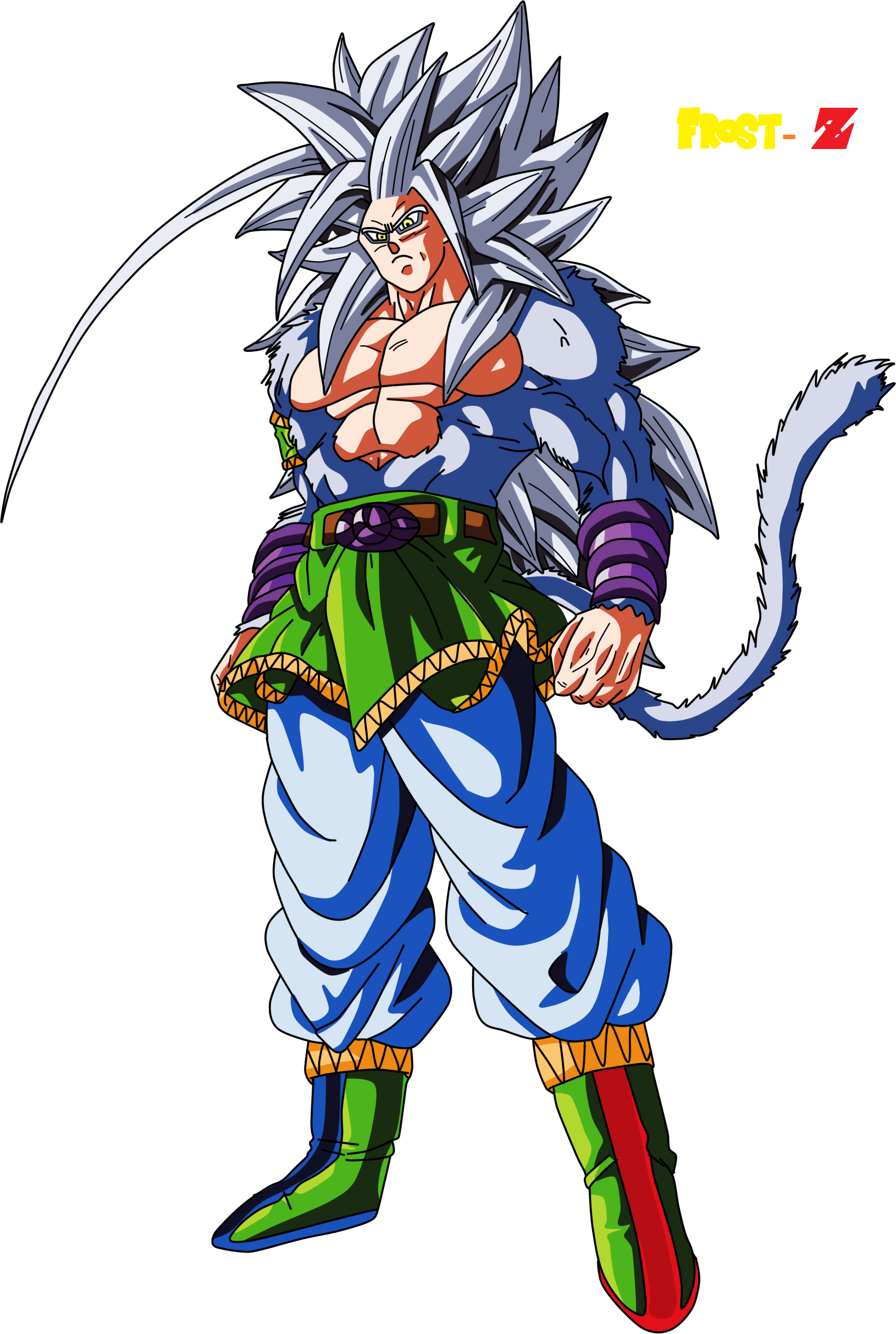 Goku super saiyan 5 by frost z on deviantart - Goku super sayan 5 ...