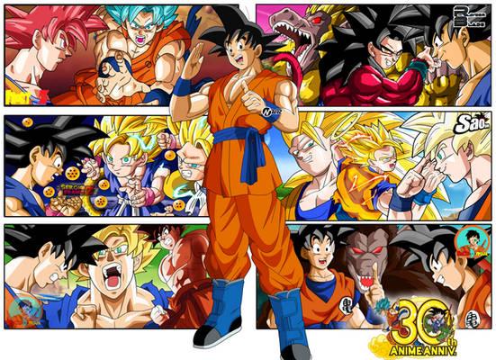 Goku 30TH Aniversary Poster