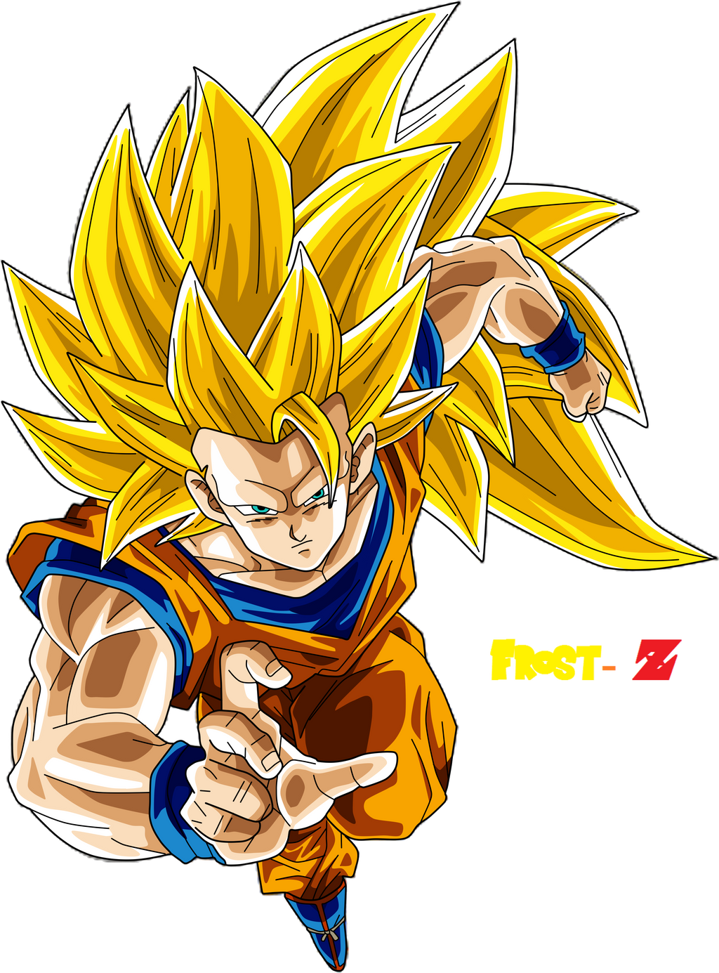 Goku super saiyan 3 by chronofz on deviantart - Sangoku super sayen 6 ...