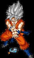 Goku Super Saiyan White