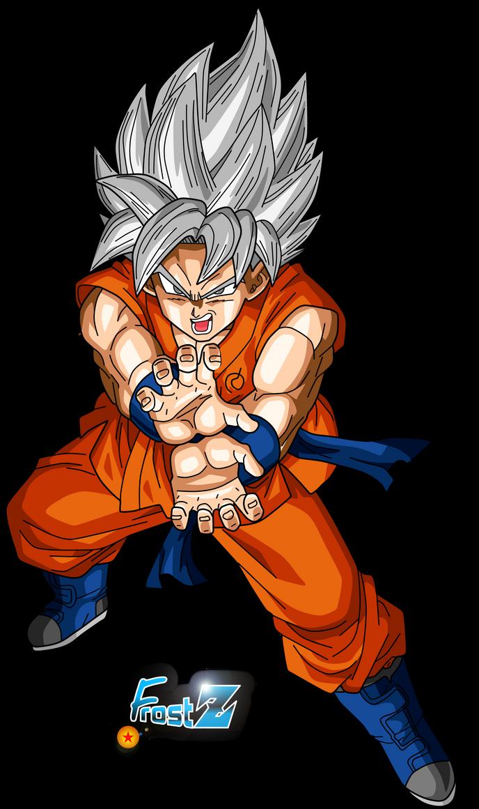 Goku Super Saiyan White by FrostZ on DeviantArt