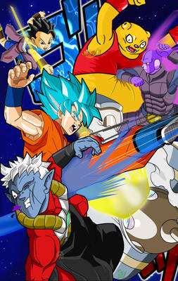 Dragon Ball Heroes Poster