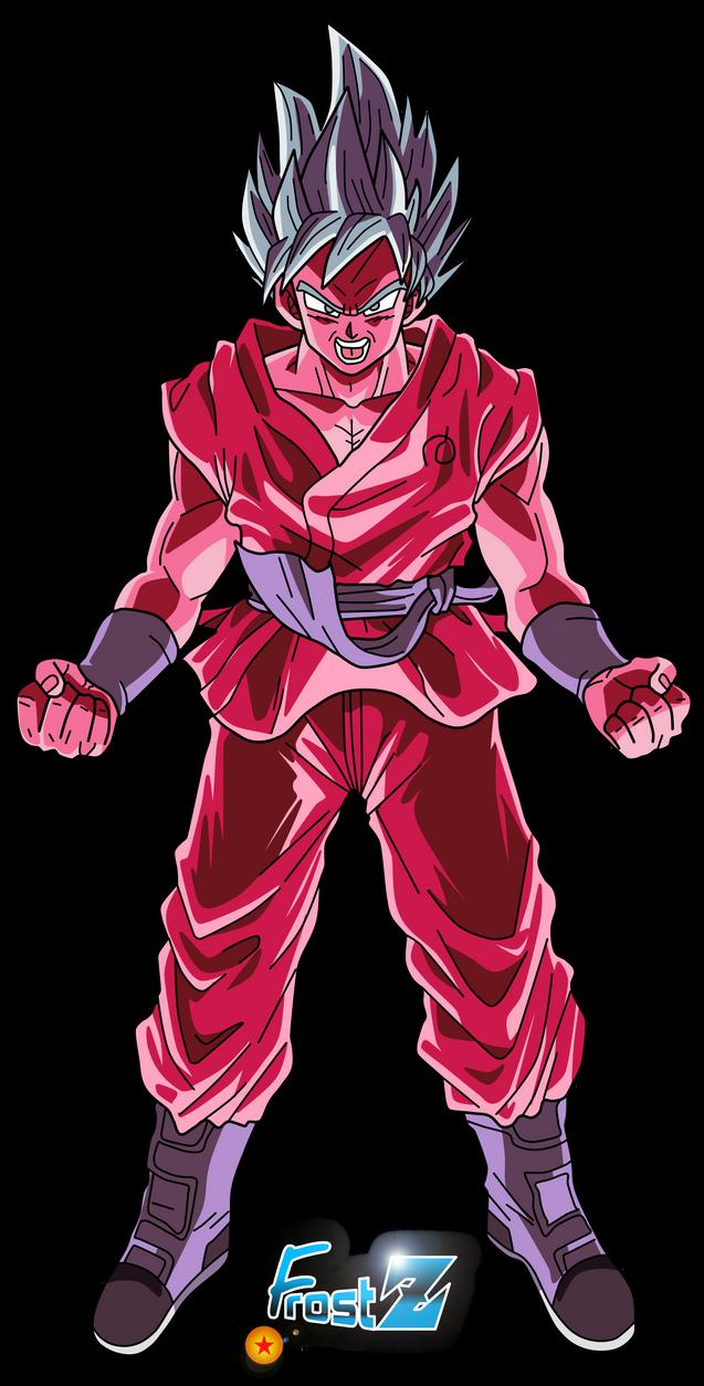 Goku Super Saiyan Blue Kaioken by MahnsterArt on DeviantArt