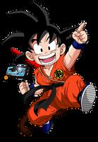 Kid Goku by ChronoFz