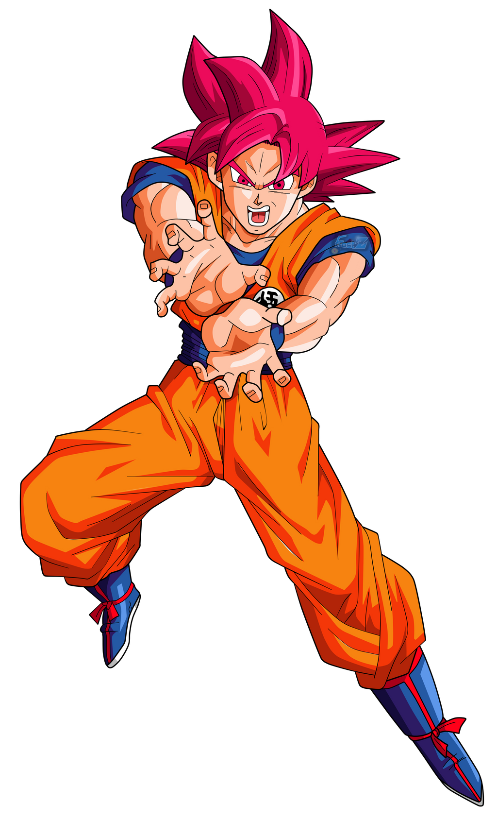 Goku Super Saiyan God Wallpapers - Wallpaper Cave |Goku Super Sayian God