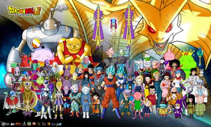 Dragon Ball Super Poster 2016