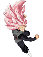 Goku Black Super Saiyan Rose 3 by ChronoFz