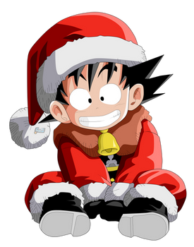 Kid Goku (Merry Christmas)