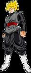 Goku Black Super Saiyan by ChronoFz