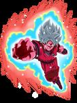 Goku Super Saiyan Blue Kaioken X10 (Aura)