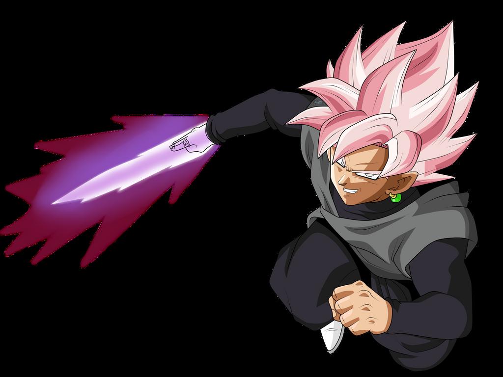 Goku Black Ssj Rose Para Colorear: [OC] SSJR Goku Black : Dbz