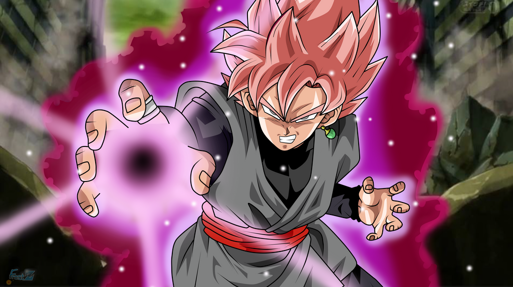 Super Saiyan Rose Goku Black Wallpaper: Frost-Z's DeviantArt Gallery