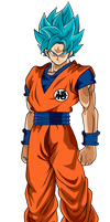 Goku Super Saiyan Blue - Universe Survival