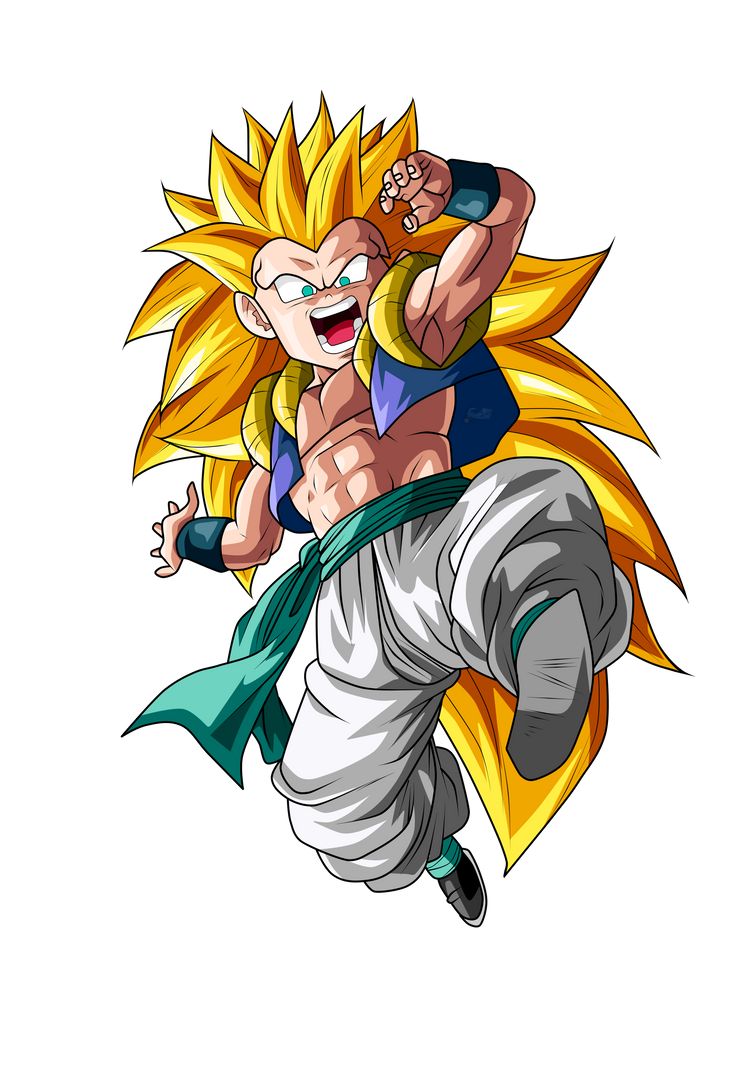 Gotenks Super Saiyan 3 by ChronoFz on DeviantArt